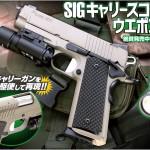 「WA【SIG】キャリースコーピオン/ウエポンライト」絶賛発売中!