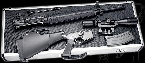 ゴルゴ13の銃M165